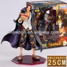 Anime Figure One Piece Shanks Figure 25cm custom action figure