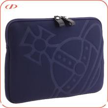 Custom logo embossed fashion laptop sleeve bags