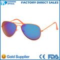 italia diseño del ce gafas de sol de mejor venta personalizada lentesde espejo aviador gafas de sol