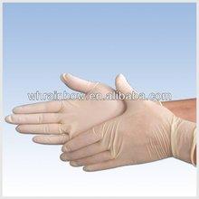 powder free latex surgical examination gloves