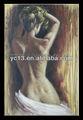 Notevole opere d'arte nude sexy ragazza tela pittura ad olio su tela