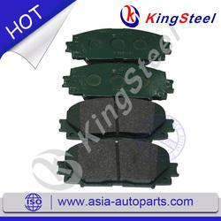 brake pad car for car TOYOTA YARIS 04465-52180