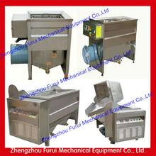 stailess steel fryer machine french fries/kfc fryer machine/automatic frying potato chips machine