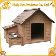 Large Cute Dog House With Feeder For Dogs Cats And Rabbit