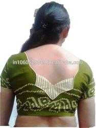 Stylish blouse design for saree (R2W025)