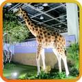 los animales jardín estatua de tamaño de la vida de los animales jirafa