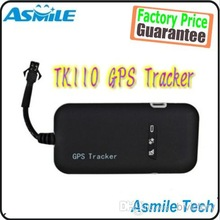 5pcs New Realtime GSM/GPRS/GPS Car gps Vehicle Tracker Quad Band Tracking Device TK110 Q0066A Alishow