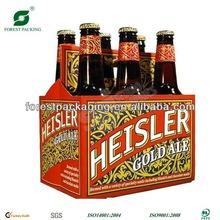 cardboard 6 pack bottle beer carriers
