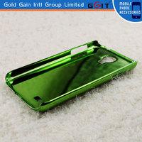 [GGIT] colorful flower printing design plating case for samsung s4, I9500, I9505