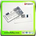 Profesional de la tarjeta inteligente/tarjeta de fidelización/sin contacto de tarjeta de plástico con la tarjeta