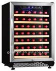 SRW-54S 152L 52 Bottle Compressor Mini Bar Fridge/Wine Refrigerator/Wine Cellar