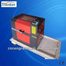 2014 Hot Sale!! Acrylic arts making machine TS3040 400mm*300mm mini laser engraving machine
