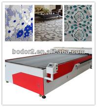 big fashion accessories laser cutting machine bed