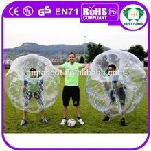 HI Funny and enjoyful running ball water, bubble ball walk water