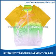 Golden velvet for track suit
