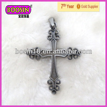 Classic personality mini cross charms for Christian (1728)