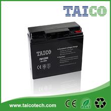 Sealed lead acid battery 12v 20ah rechargeable solar batteries