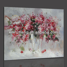 Decorative Oil Painting Picture of Pinky Flowers