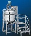 Vide homogénéisation émulsifiant, homogénéiser le mélange du réservoir, detergeant homogénéisation mélangeur