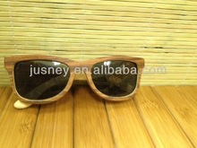 China manufacturer zebra wood sunglasses popular gift
