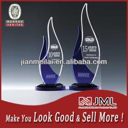 2014 Modern design high quality acrylic Clear Promotion Acrylic Trophy