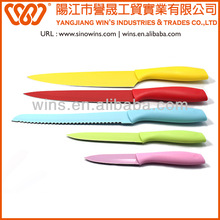 Kitchen Knife 5pcs Non-stick Coating Knife Set