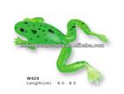 8.0cm soft plastic fishing lures soft frog lure