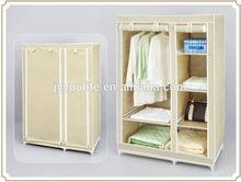 Fashionable folding fabric wardrobe design for storage