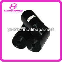 Custom black dog waste bag yiwu pet products