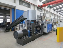 plastic compounding pelletizing machine
