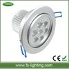 high power led 7w downlight