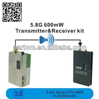 5.8G 600mW outdoor wireless video transmitter and receiver
