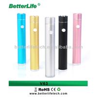 2014 betterlife variable voltage mod V63 18650 battery lava tube vv mod e cigarettes china manufacturer