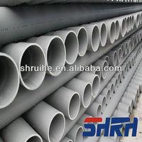pvc plastic irrigation pipe