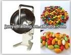 Chocolate coating pan using hot air and cold air machine