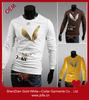 2014 fashion men's sweatshirt 100% cotton printing