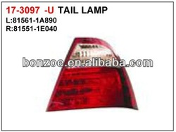 TAIL LAMP BACK LAMP TAIL LIGHT AUTO LAMP AUTO PARTS CAR ACCESSORIES USE FOR TOYOTA COROLLA 05/2005 L 81561-1A890 R 81551-1E040