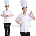 Cor branca cantina uniforme