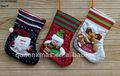muñeco de nieve santa renos baratos calcetines de navidad