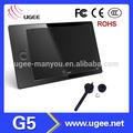 Ugee 9- pulgadas del artista ordenador tableta de dibujo- g5 con 8gb tarjeta de memoria