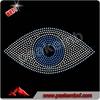 Beautiful evil eye rhinestone iron on transfer for t-shirt