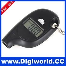 Mini Portable Keychain Digital LCD Tire Tyre Wheel Air Pressure Gauge Tester For Car PSI KPA BAR