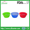 Factory wholesale silicone cupcake molds for cake decorating