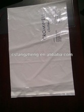 China factory a4 self adhesive plastic film/ldpe mail bag