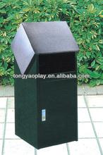 2014 hot selling plastic dustbin, environmental garbage bin