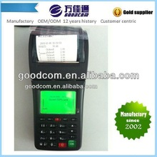 Goodcom Portable POS Terminal with Built with Thermal Printer for Printing Order message which come from Mobile or Web