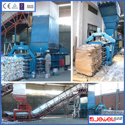 LOW COST!!!waste paper mill baler machinery