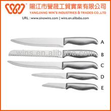 Sharp et handypaypal creux, ensembles couteau de cuisine couteau de gros des fournitures