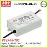 Meanwell 16w led bulb driver 700ma triac led driver module