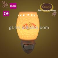 most popular delicate colors 110/240 5-15w wholesale fragrance oil lamps